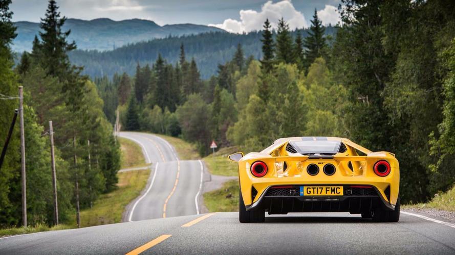 Ford GT, Norveç gezisini rekorla taçlandırdı