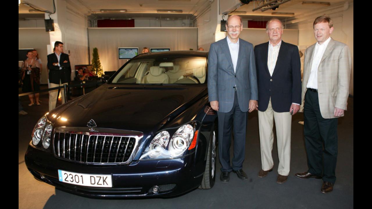 Maybach e Re Juan Carlos I di Spagna