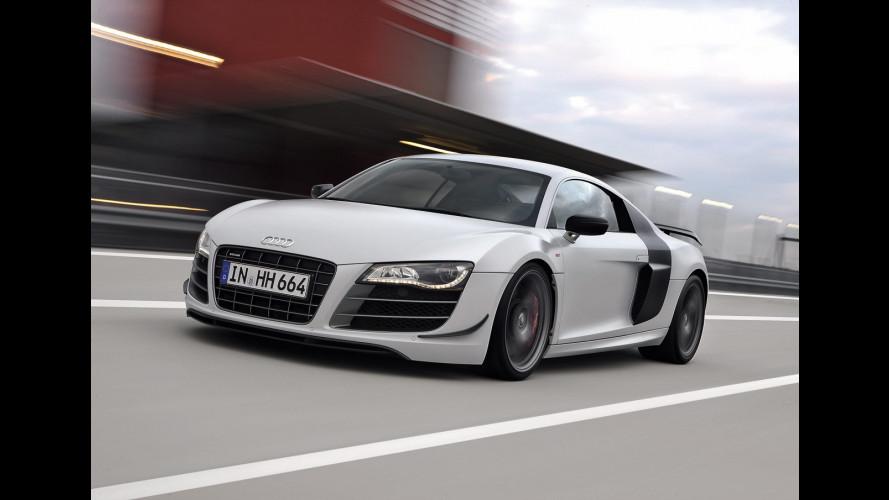 Audi R8 GT: da 188.500 euro