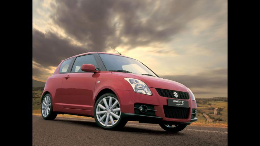 Al debutto la nuova Suzuki Swift Sport