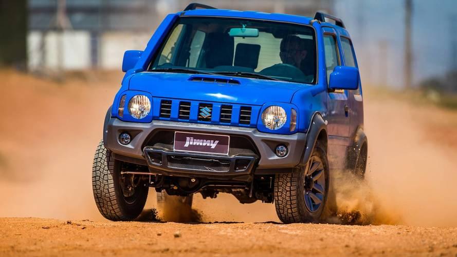 Suzuki Jimny sai de linha no exterior à espera da nova geração