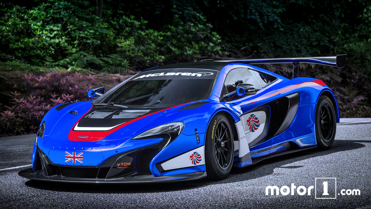 Great Britain: McLaren 650S GT3