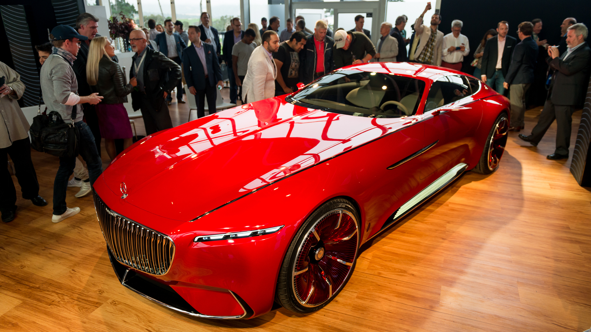 vision mercedes-maybach 6 concept exudes timeless opulence