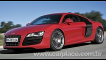 Audi R8 V10 FSI quattro 2010 - Veja o vídeo e ouça o ronco do motor de 525cv