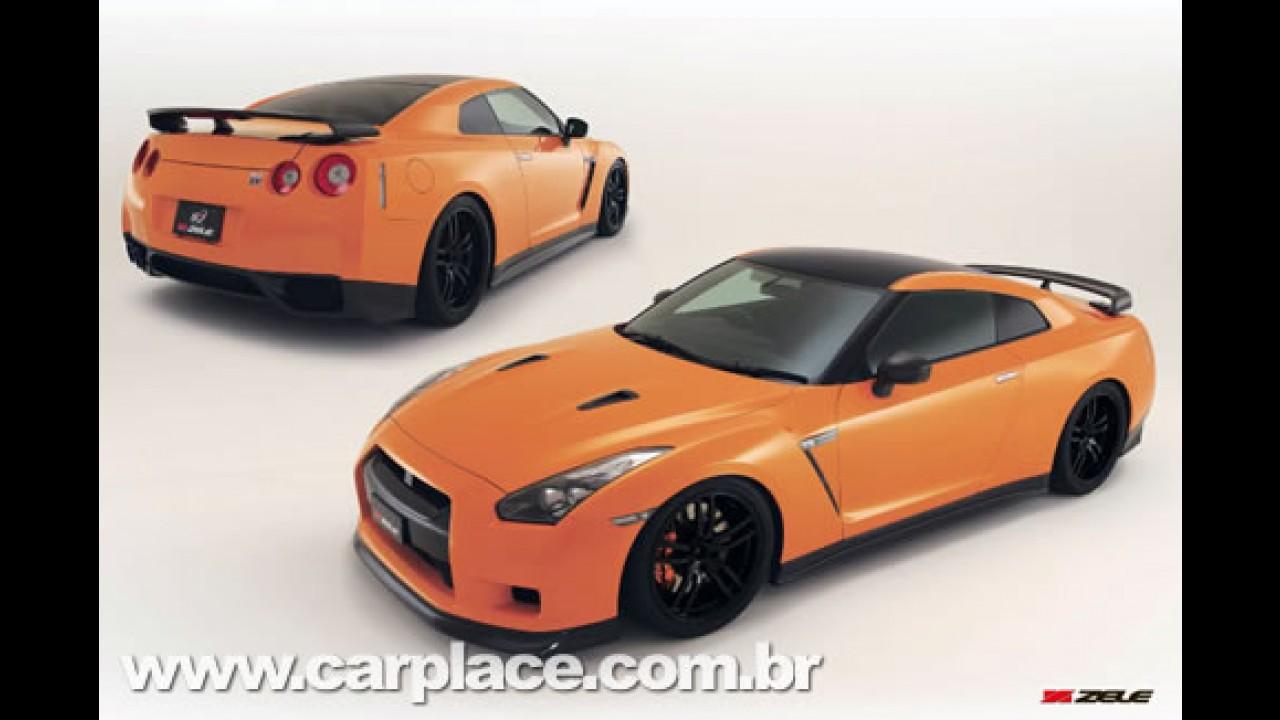 Nissan GT-R R35 Complete Edition da Zele tem 550 cv de potência