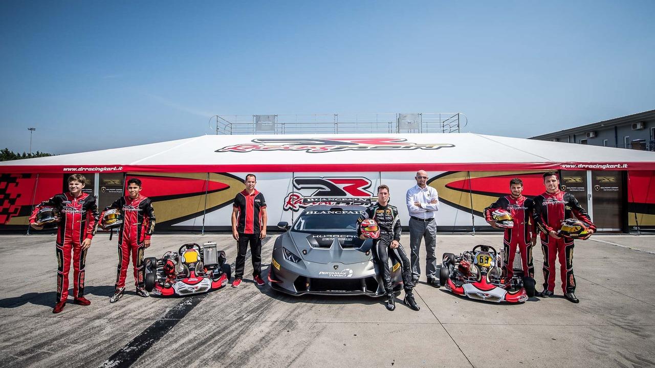Lamborghini young driver program