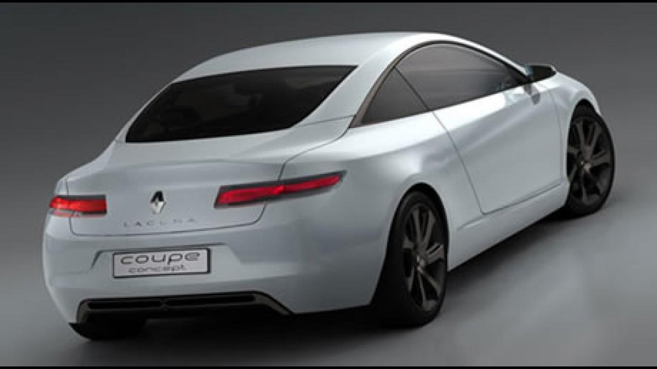 Salão de Frankfurt 2007 - Renault Laguna Coupé Concept