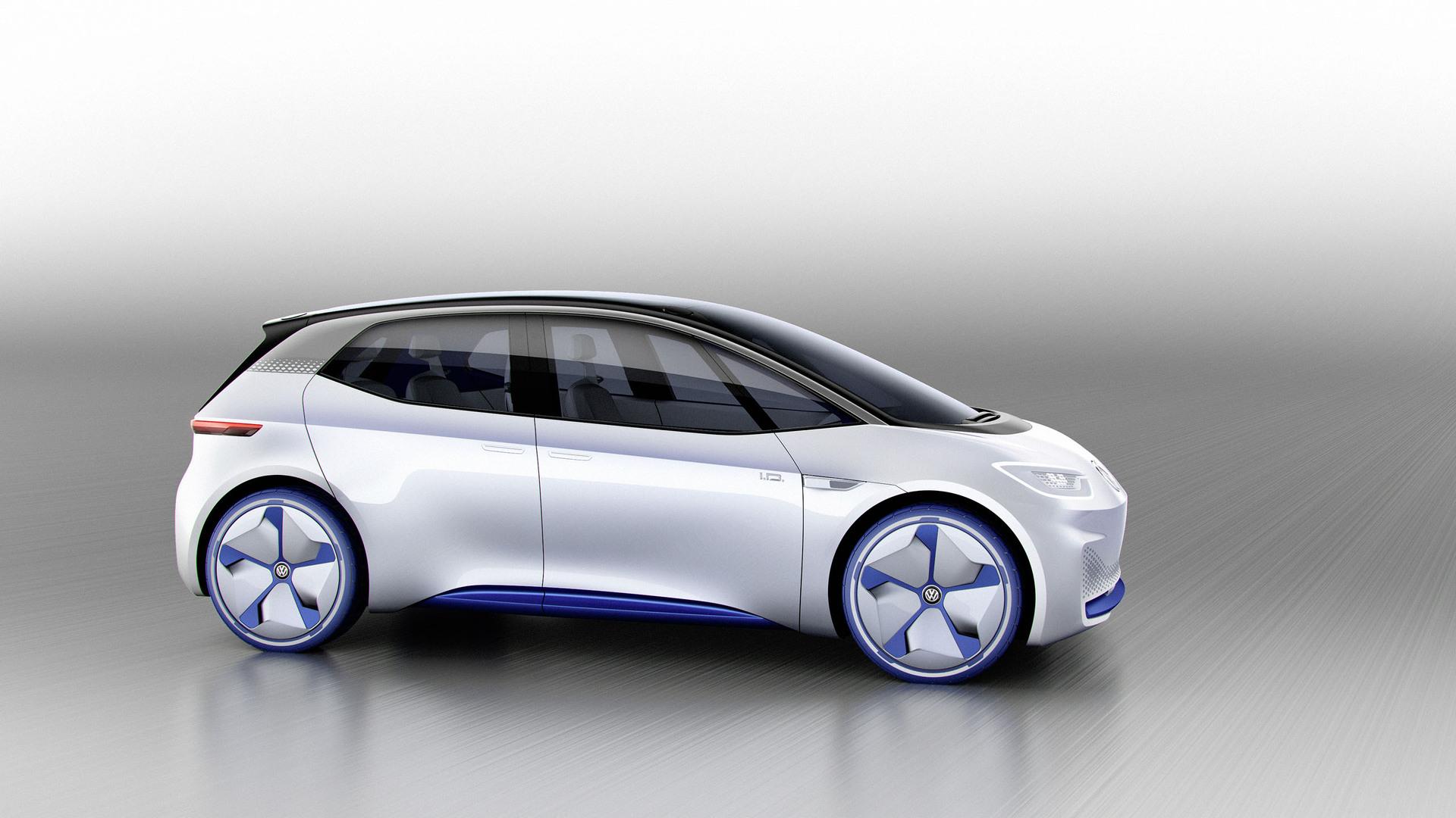 vw pode compartilhar plataforma meb de carros elétricos