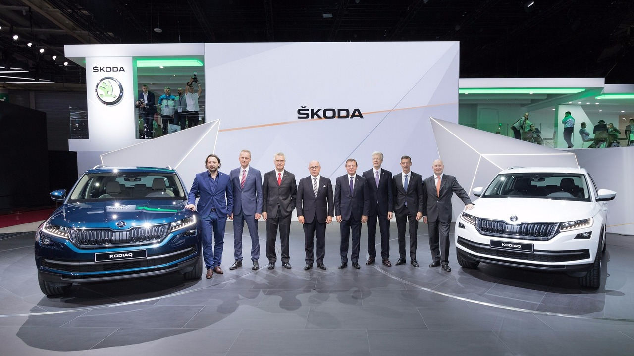 Skoda Kodiaq at 2016 Paris Motor Show