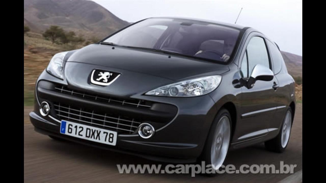 Flagrado Novo Peugeot 207 Compact - Lançamento está previsto para maio