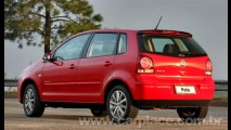 Polo hatch e Polo sedan 2009 chegam ao mercado com pequenas novidades