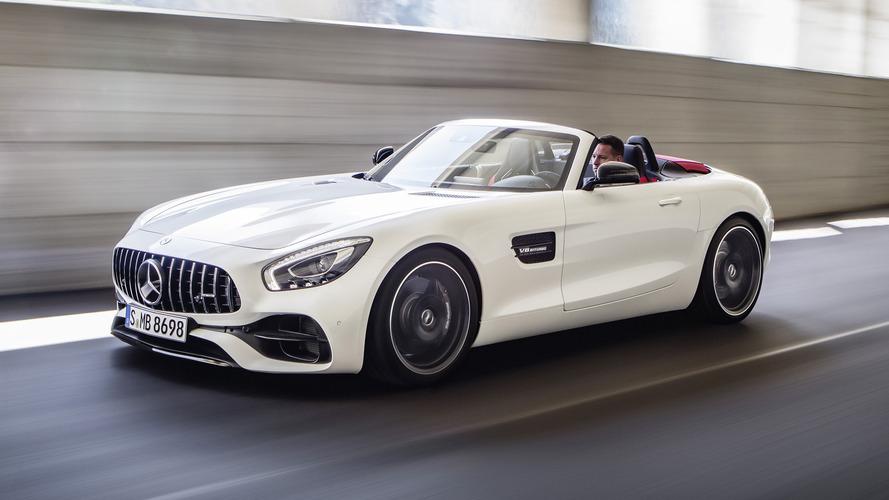 Les tarifs du Mercedes-AMG GT Roadster dévoilés