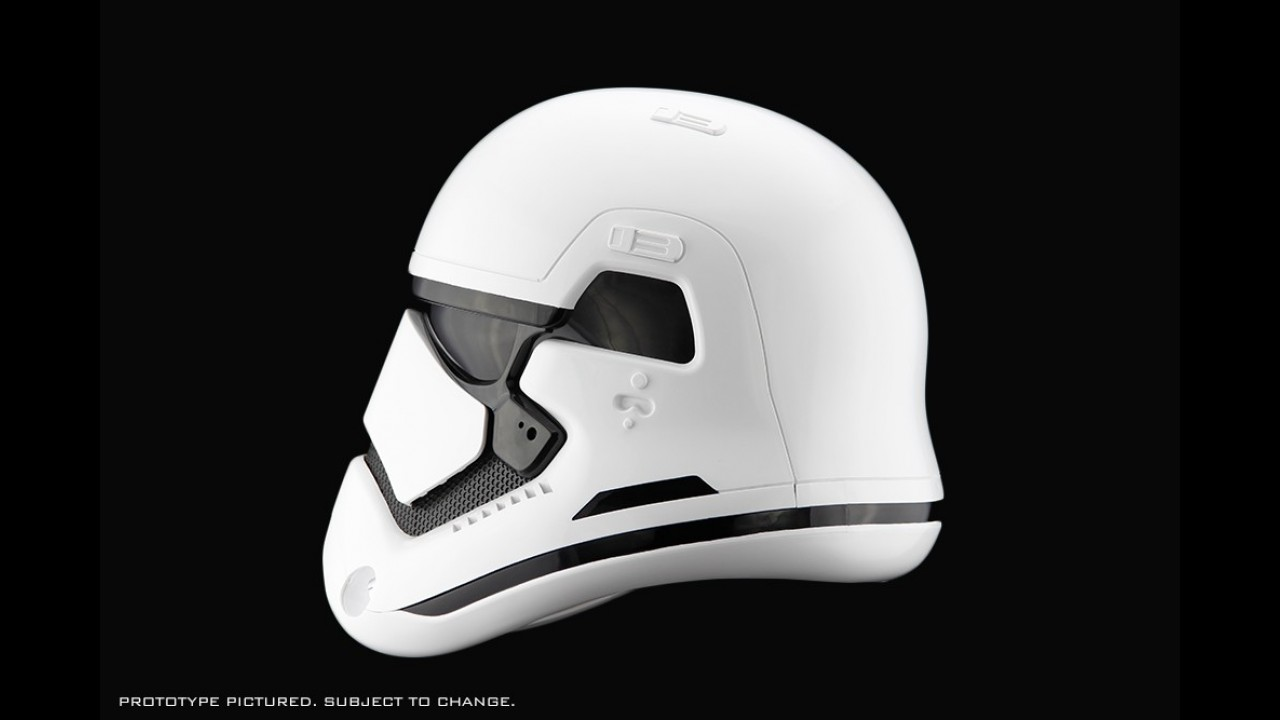 Sonunda Yaptılar: Stormtrooper (Star Wars) Motosiklet Kaskı