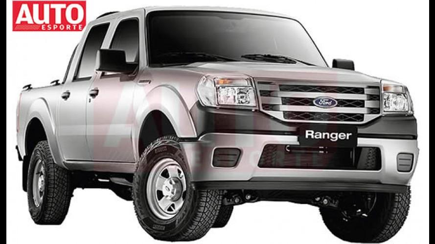 Sem disfarces: AutoEsporte mostra fotos oficiais da nova Ford Ranger 2010