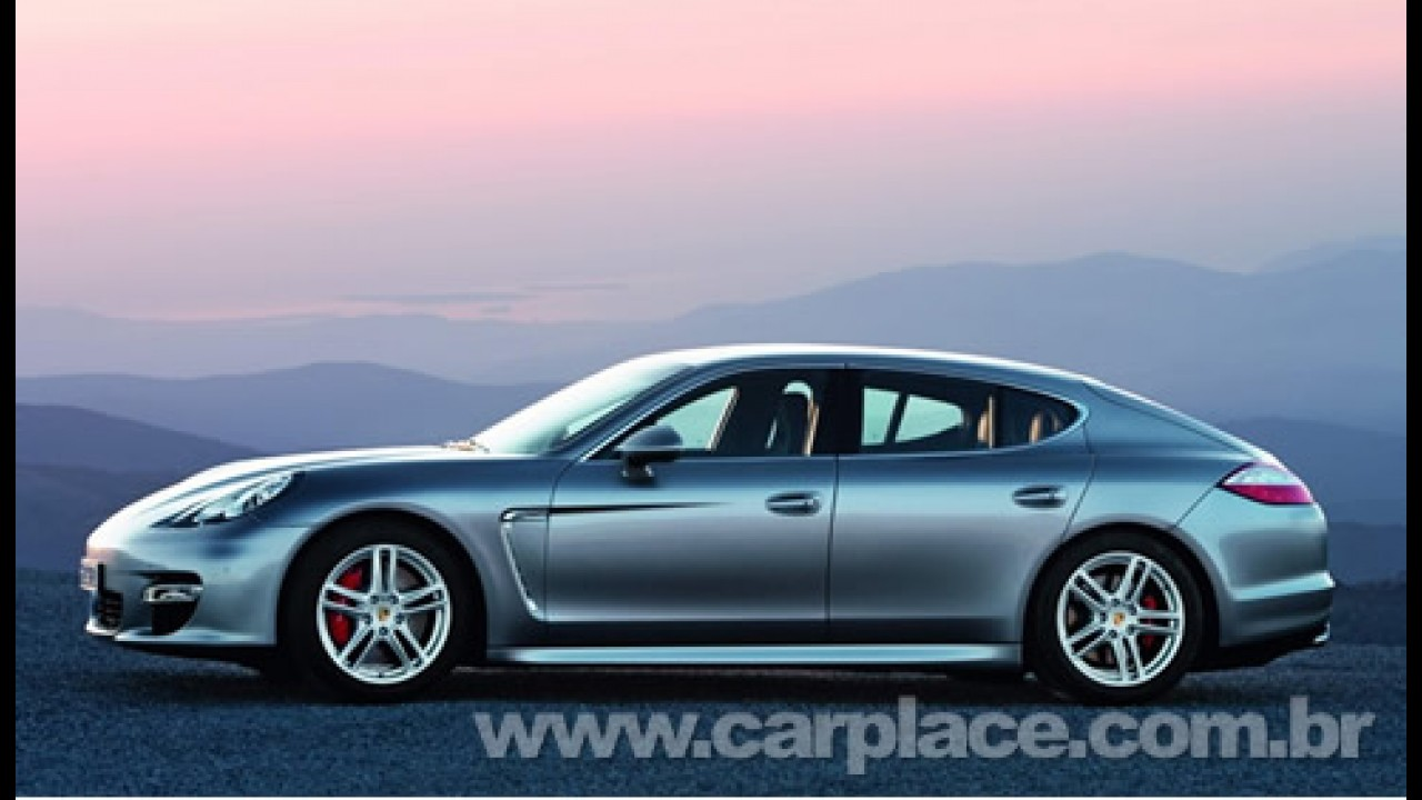 Vazou: Primeiras fotos oficiais do inédito Porsche Panamera Sedan 2010?