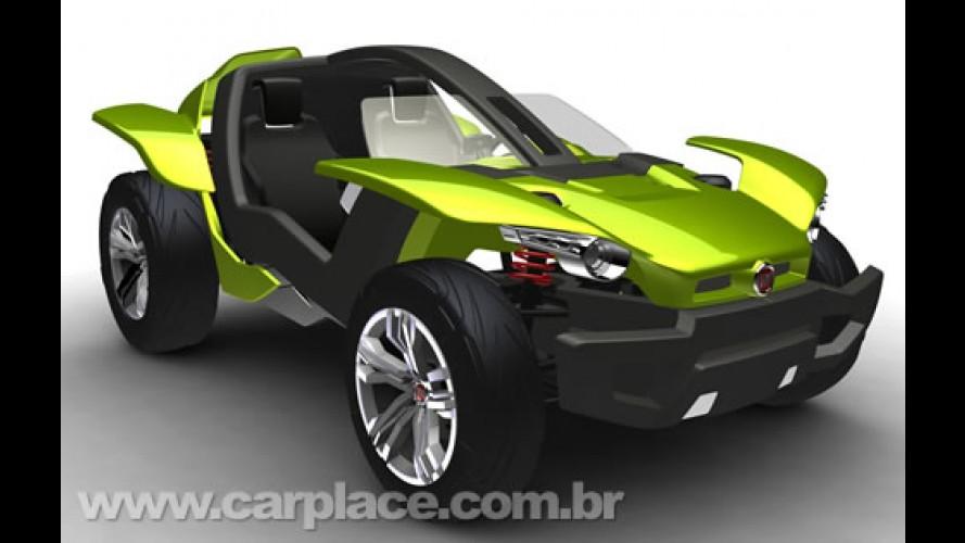 Carro conceito ecológico brasileiro: Fiat apresentará o Bugster no Salão de SP