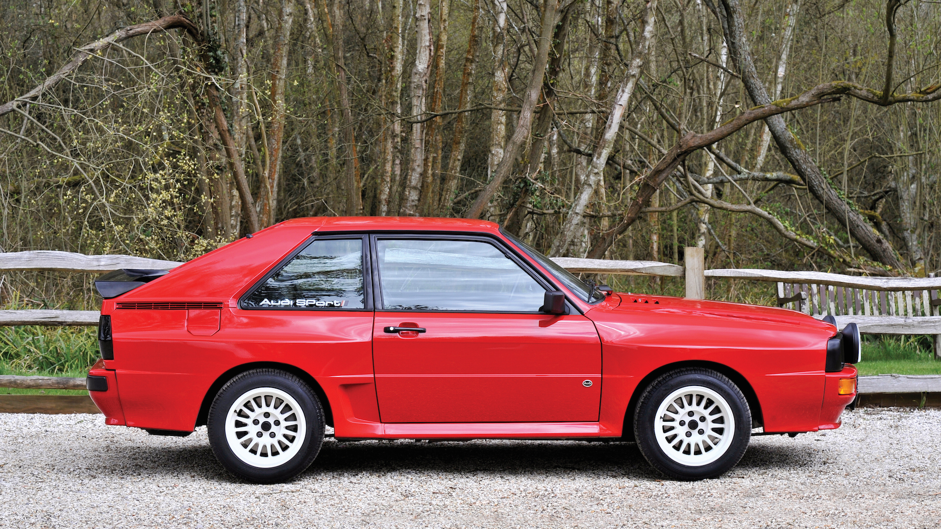Audi quattro 1986