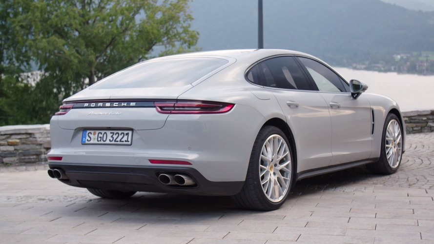 Official 2017 Porsche Panamera Turbo Detailed In A Trio Of Colors