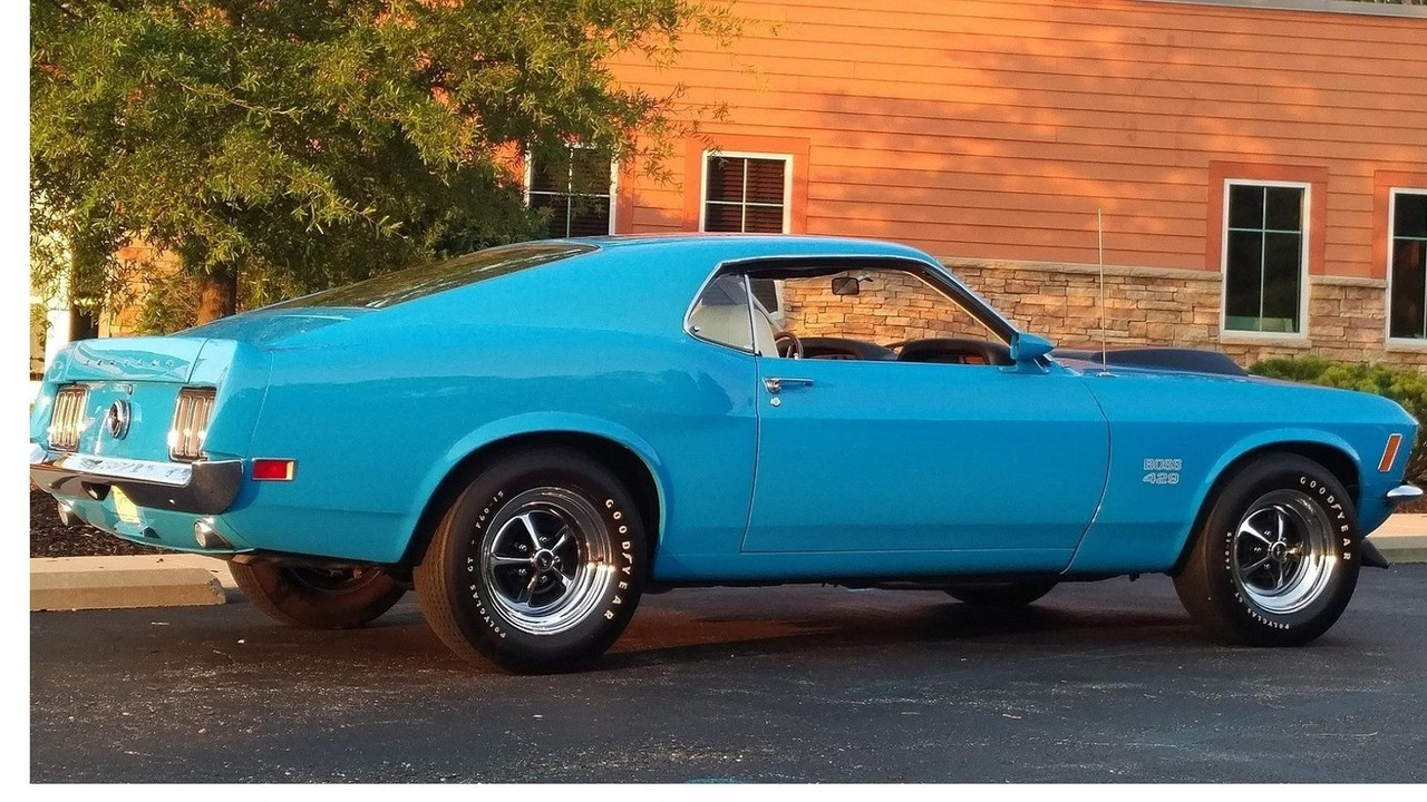 1970 Ford Mustang Boss 429 Fastback Auctioned For 245000 Mach 1