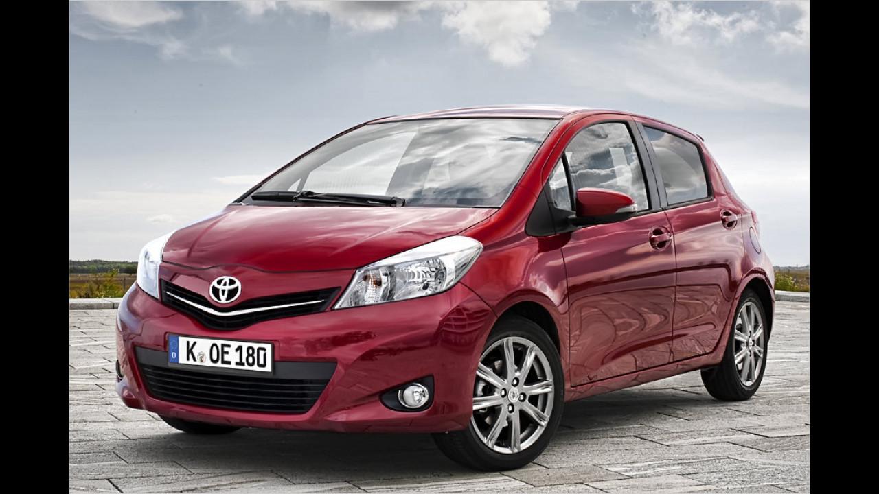 Minis/Kleinwagen, 0 bis 50.000 Kilometer: Toyota Yaris (2011)