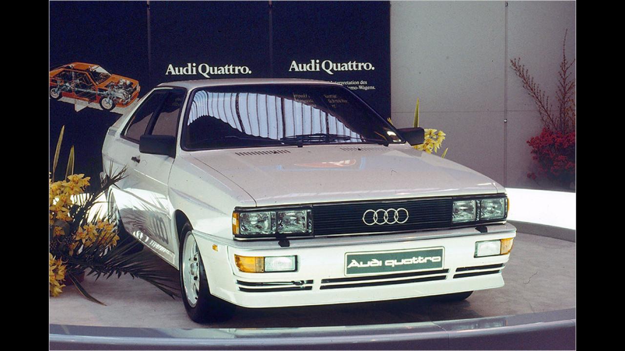 1980: Audi quattro (B2)