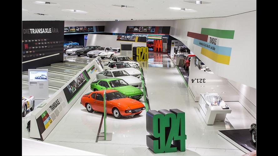 """Porsche-Museum würdigt ,40 Jahre Transaxle"""""""