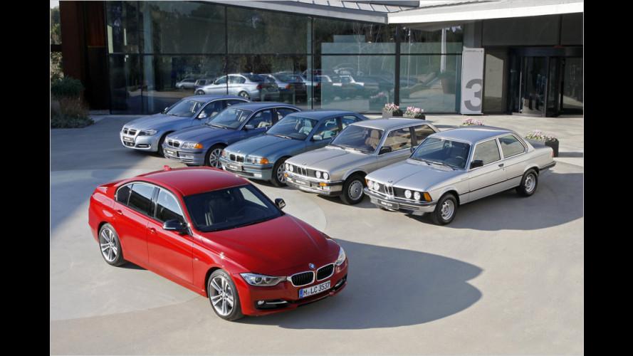 40 Jahre BMW 3er-Reihe: Die Geschichte eines Erfolgsmodells