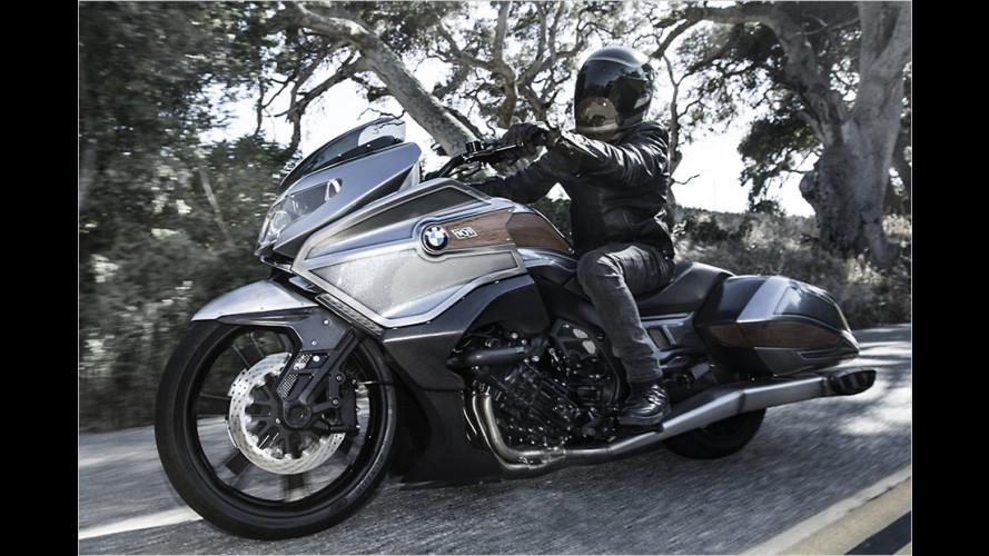 BMW Concept 101: Straßenkreuzer auf zwei Rädern