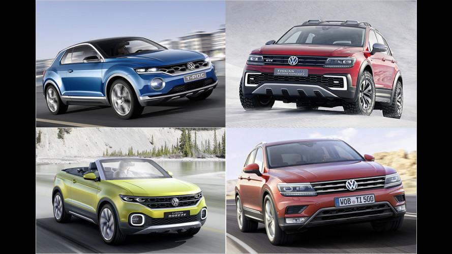 Die SUV-Zukunft von VW
