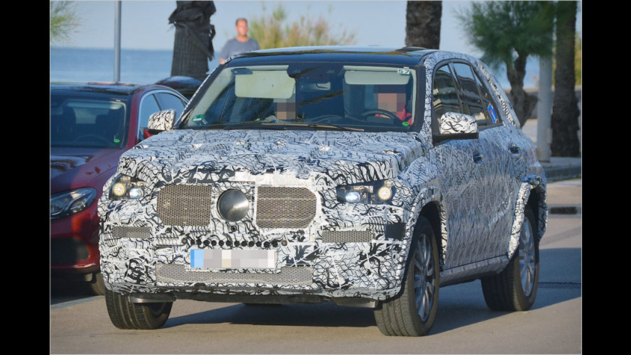 Neuer Mercedes GLE zeigt sich