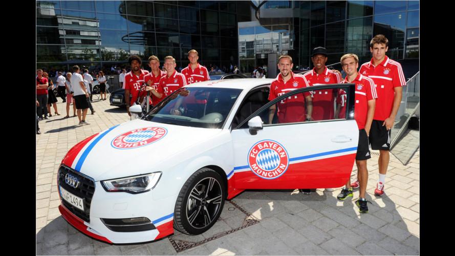 Neue Dienstwagen für die Stars des FC Bayern