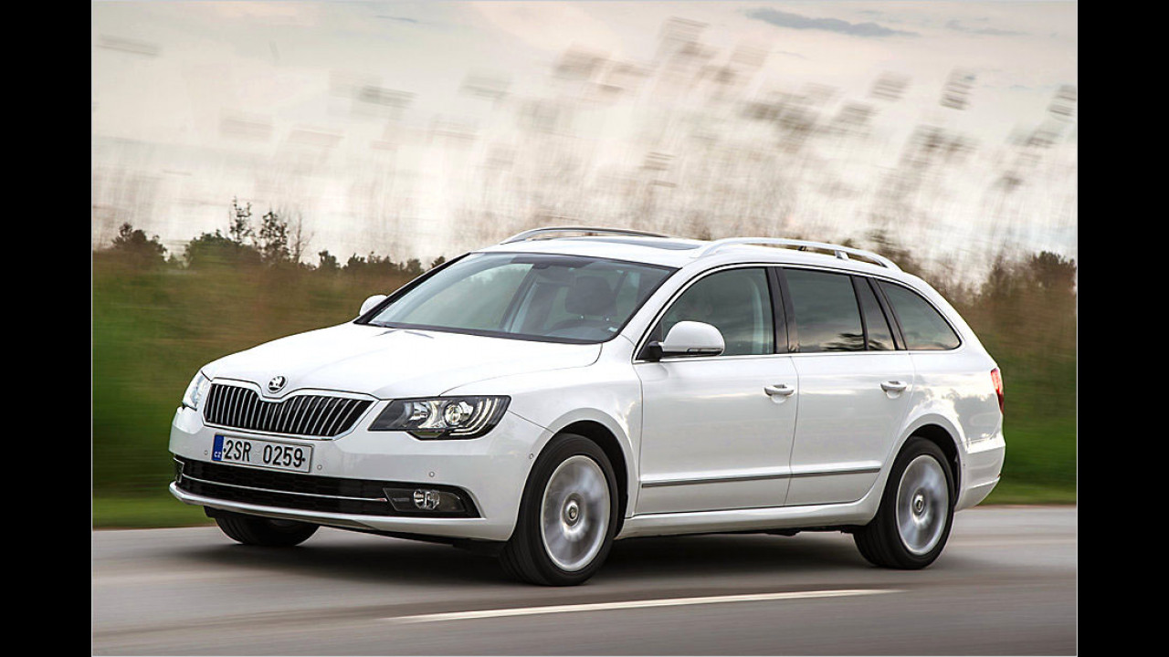 Skoda im Superb