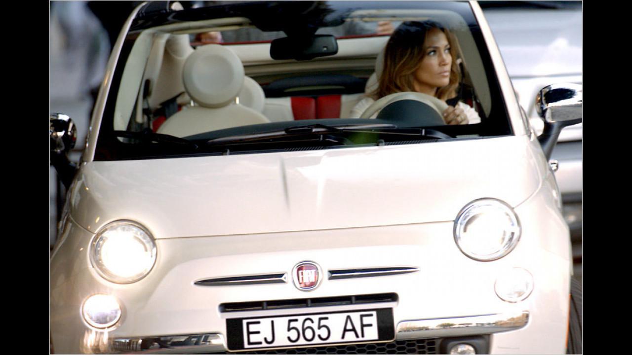 Jennifer Lopez: Fiat 500