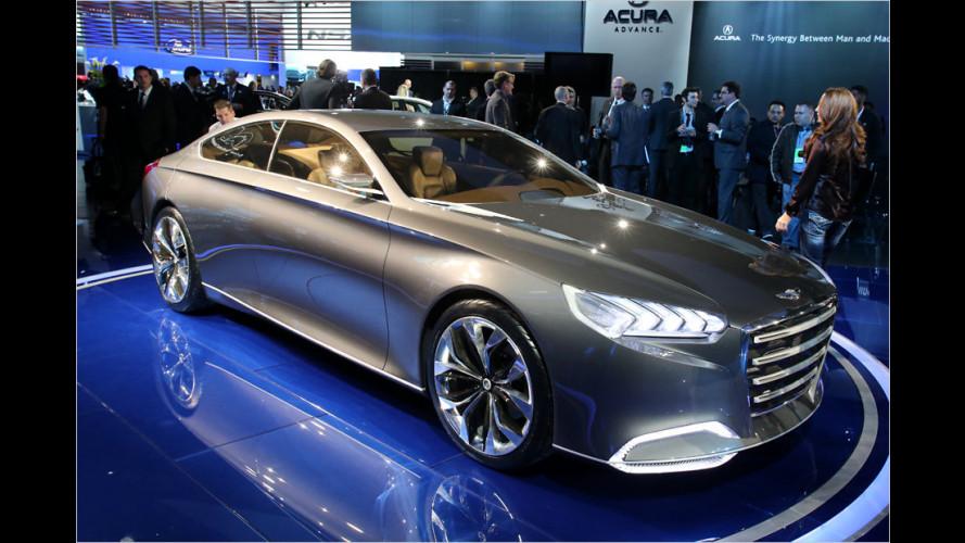 Hyundai: Panamera und CLS im Visier