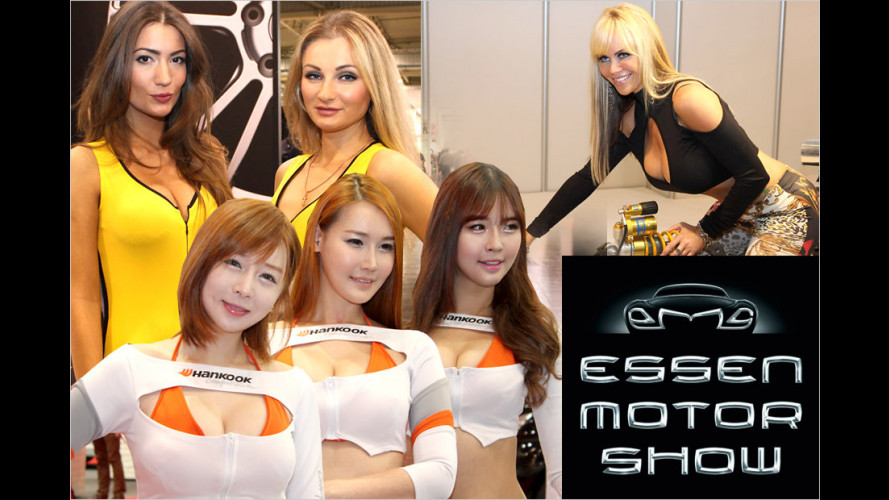 Die hübschesten Hostessen auf der Essen Motor Show 2013