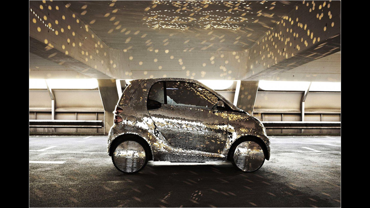 Smart Fortwo Electric Discokugel