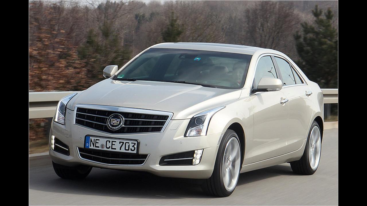 Cadillac ATS: Von dem BLS-Nachfolger wurden 2013 immerhin 19 Stück zugelassen