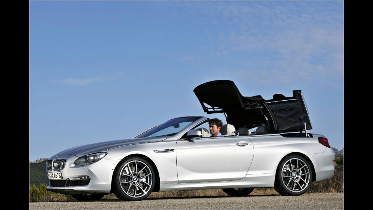 BMW 6er Cabriolet (19 Sekunden, bis 40 km/h)