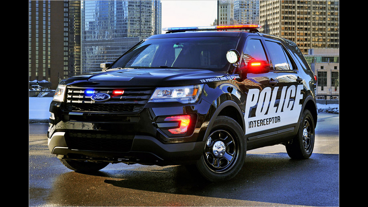 Ford Explorer Police Interceptor (2015)