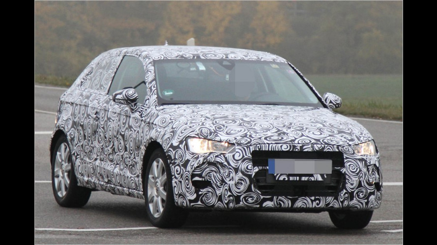 Aufgespürt: Erste Innenaufnahmen vom neuen Audi A3