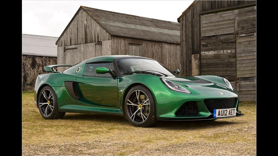 Lotus Exige S kommt 2015 auch als Automatik-Modell