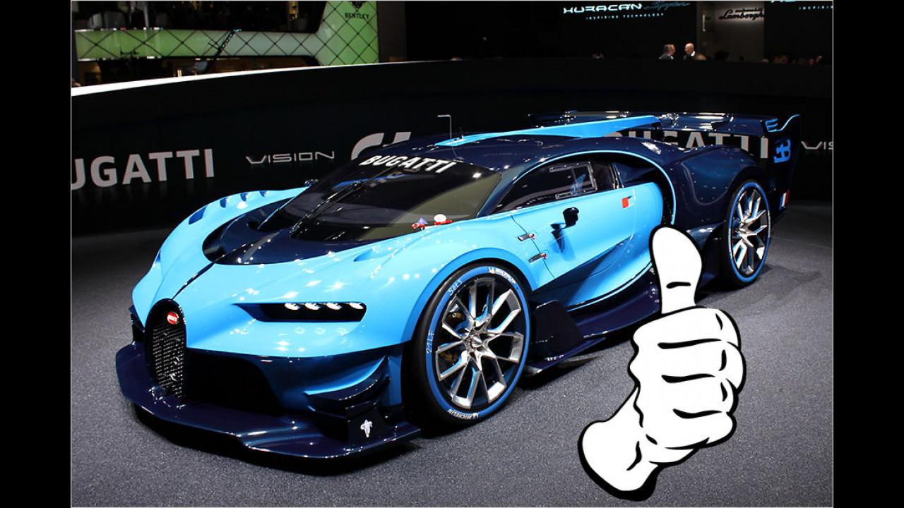 Top: Bugatti Vision Gran Turismo
