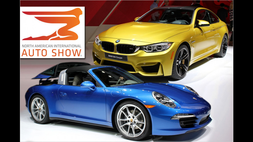 Highlights der Detroit Motor Show (NAIAS) 2014