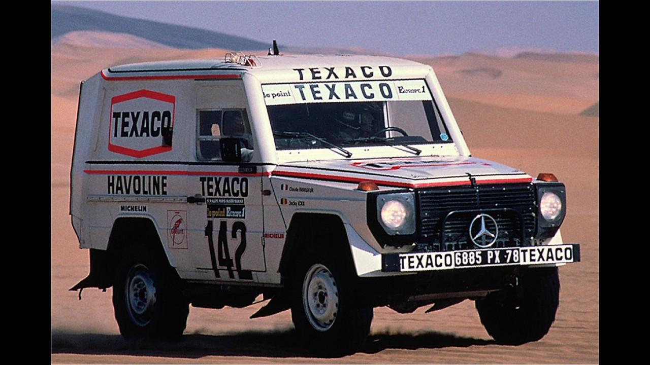 35 Jahre G-Klasse: Im Rallyeeinsatz