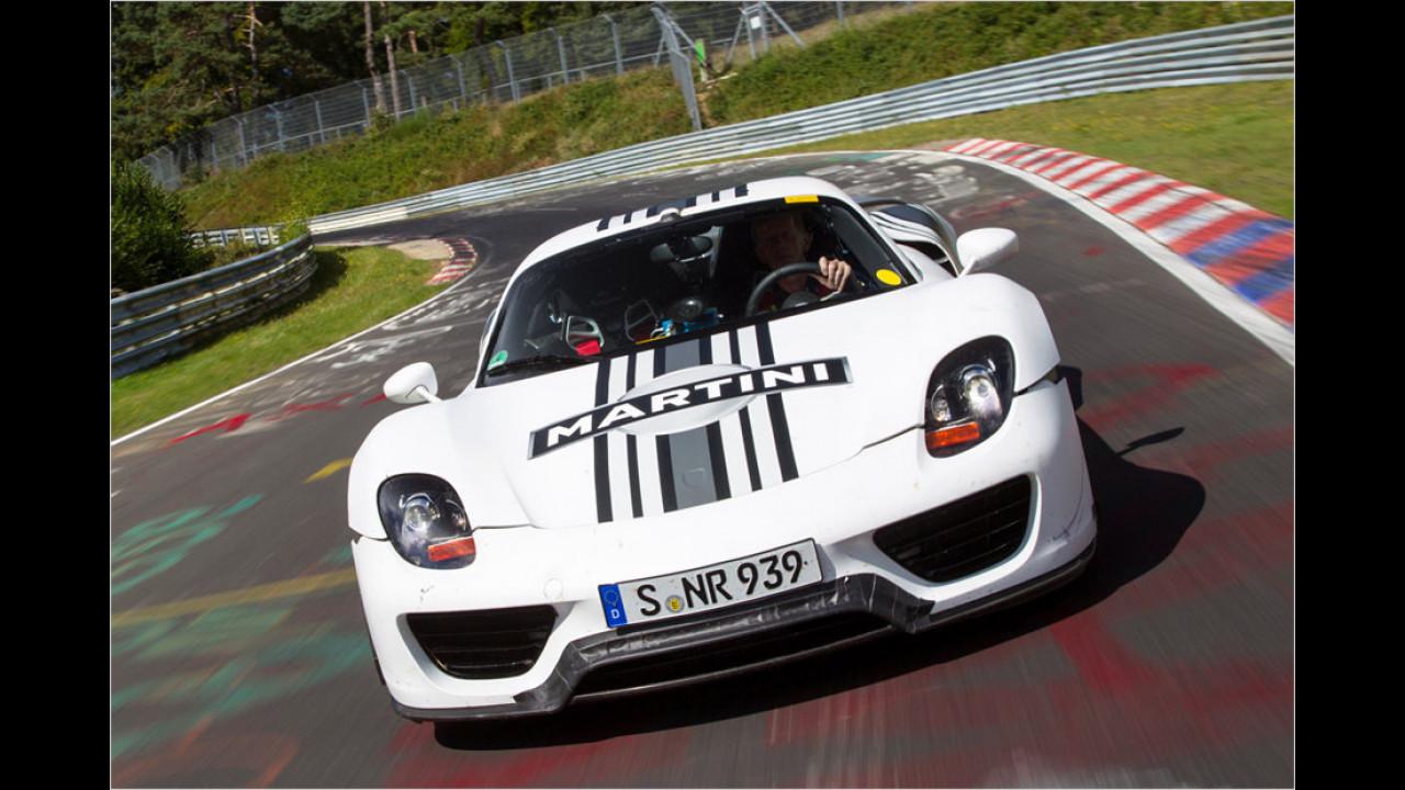 Porsche 918 Spyder, Marc Lieb, 2012