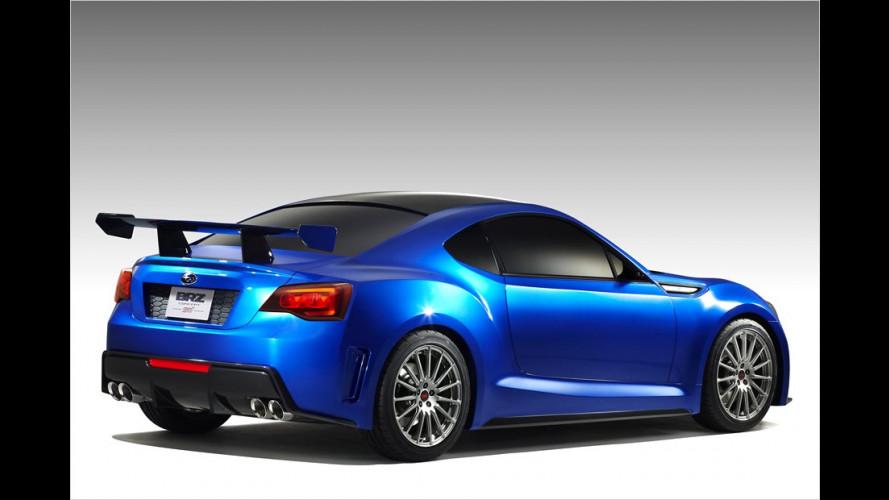 Subaru BRZ Concept STI : Beflügelte Aussichten