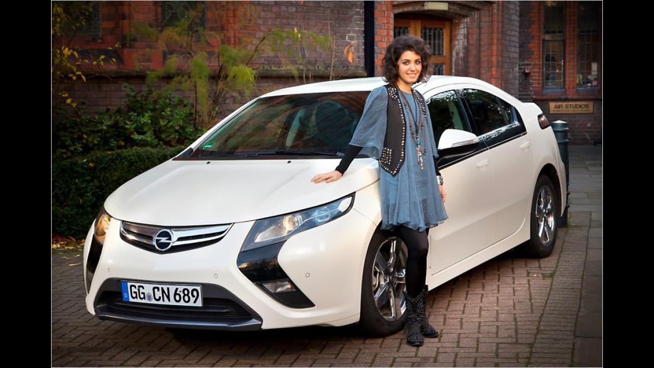 Katie Melua: Opel Ampera