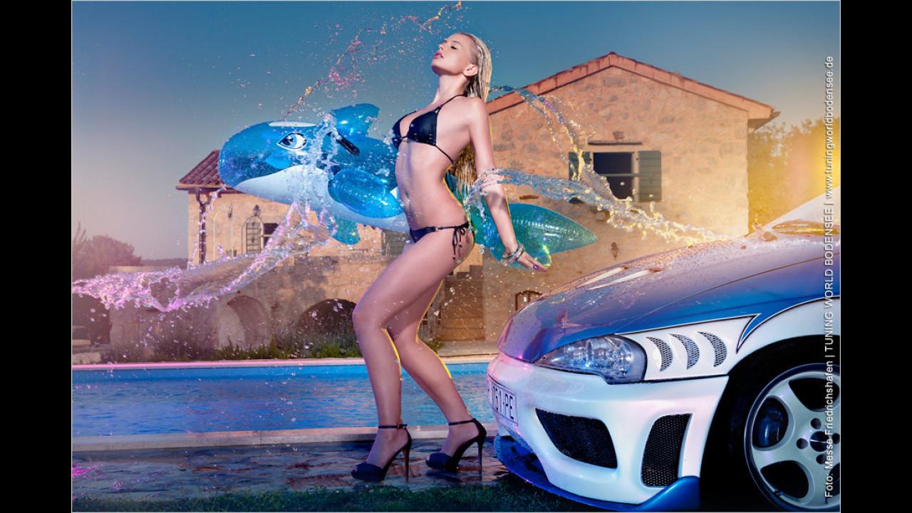 Miss Tuning Kalender 2012: Im Juni steht eine angenehme Erfrischung an