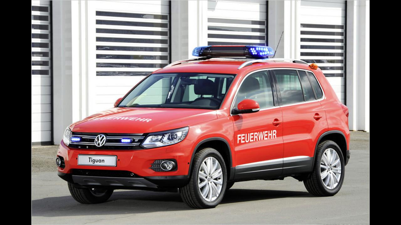 VW Tiguan Kommandowagen