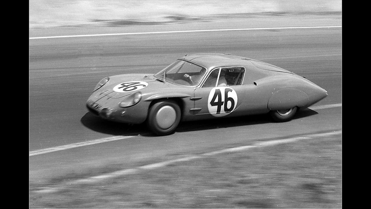 Aerodynamik zählt: Alpine M64